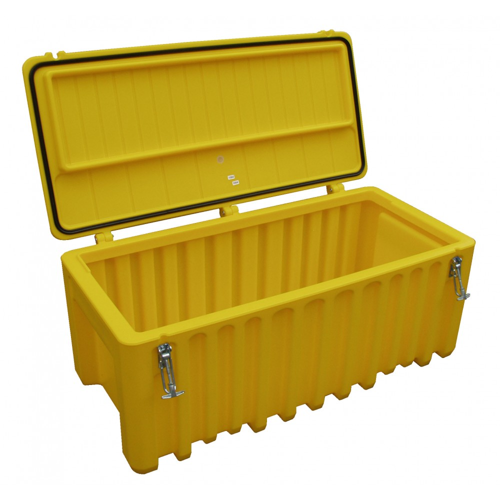 Storage Box - Yellow 250 Litre Capacity