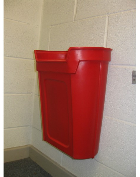 Tapton Wall Mounted Litter Bin - 20 Litre