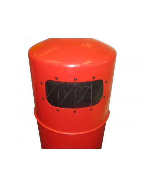 Litter Bin - Hooded Top With Pest Guard