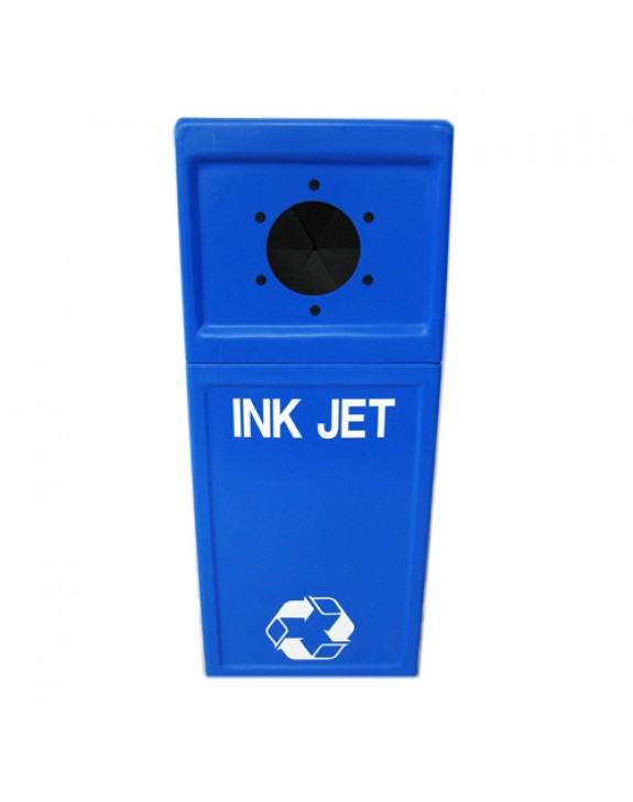 Inkjet Cartridge Recycling Pillar Bin - Floor
