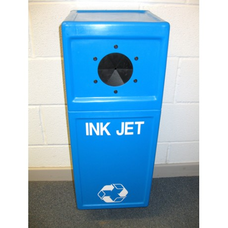 Inkjet Cartridge Recycling Pillar Bin - Wall